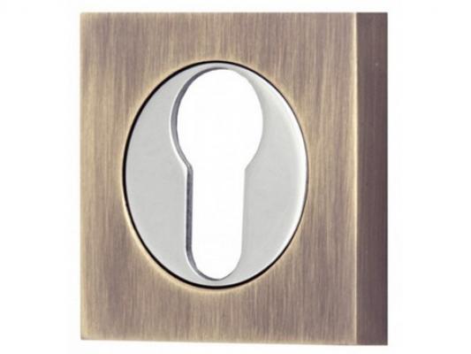 Накладка под ключевой цилиндр (квадрат)